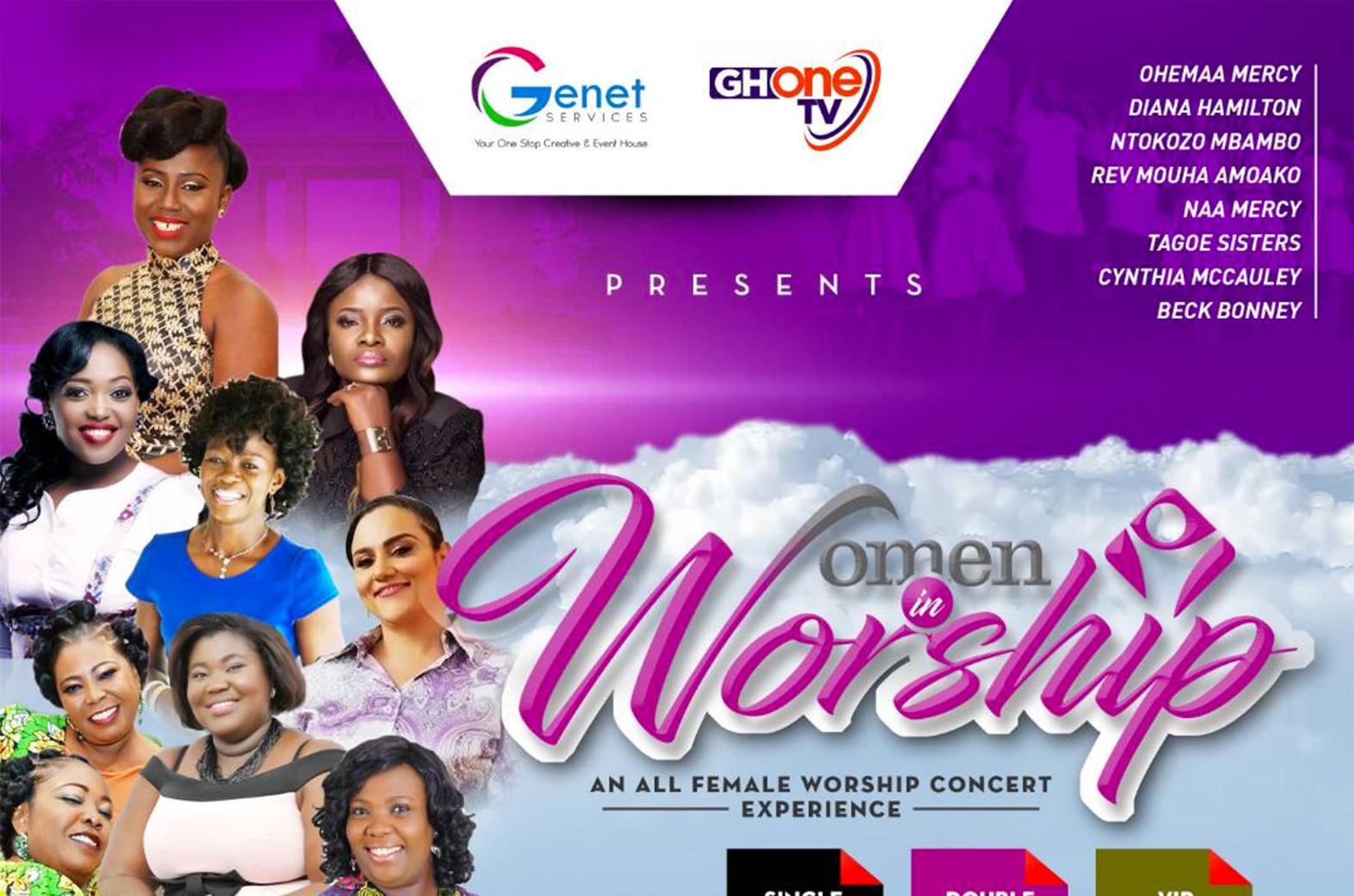 Women In Worship concert