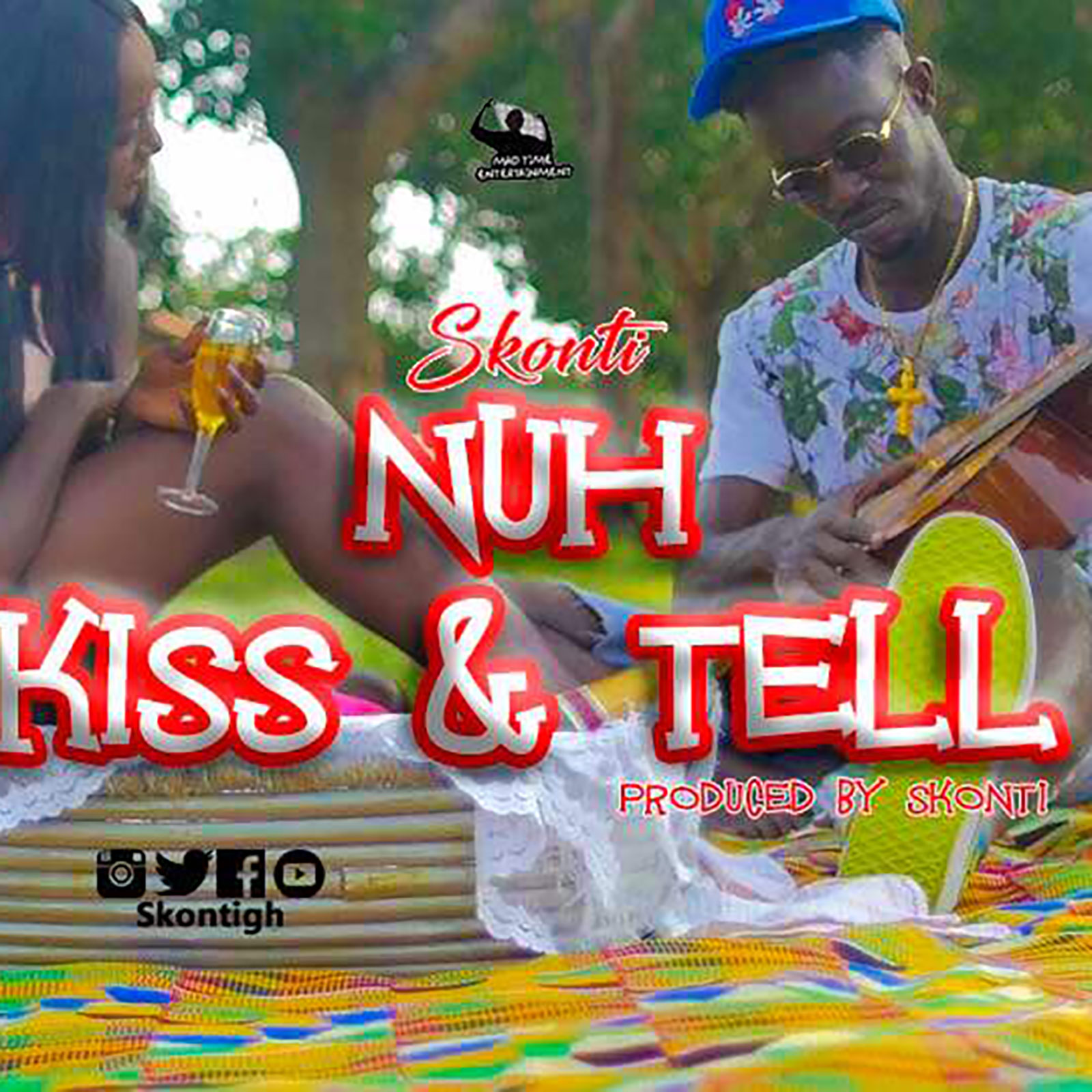 Nuh Kiss N Tell by Skonti