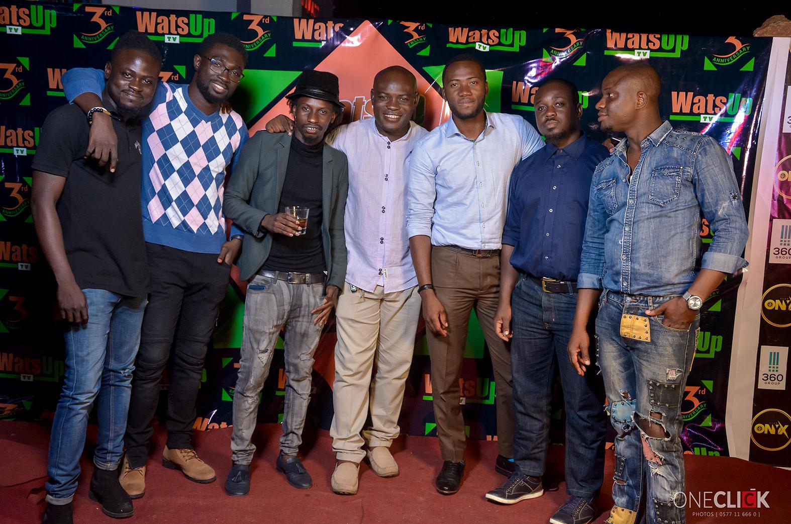 WatsUp TV hosts Party to celebrates 3 years anniversary | Ghana
