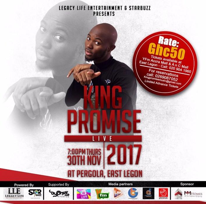 King Promise, King Promise Live, Ghana Music