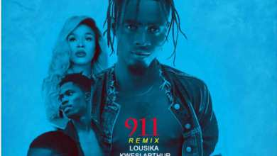 Photo of Audio: 911 remix by feat. Kwesi Arthur, Lousika & Jason El-A