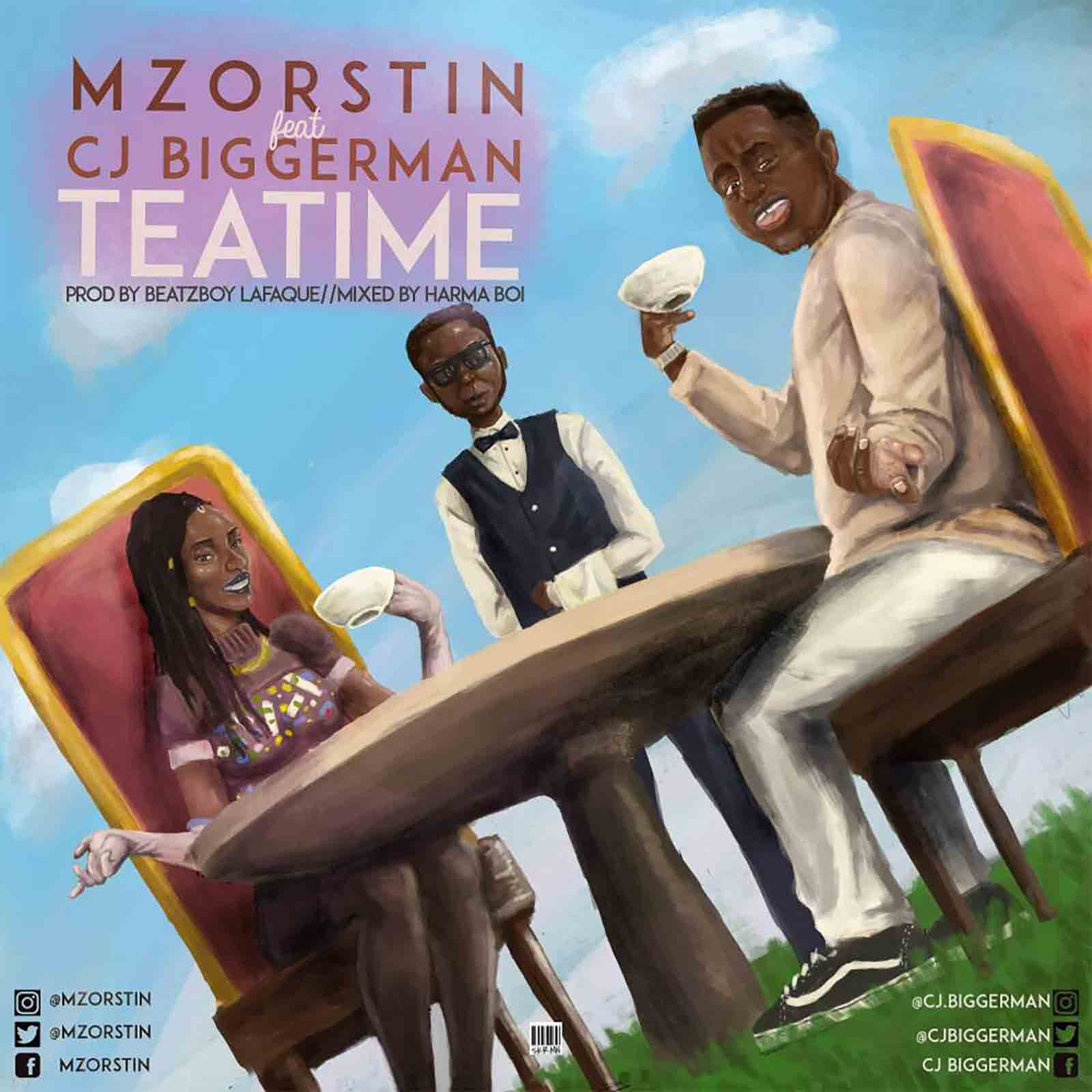 Tea Time by MzOrstin feat. CJ Biggerman