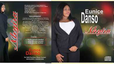 "Photo of Eunice Danso's ""Nhyira"" album makes waves"
