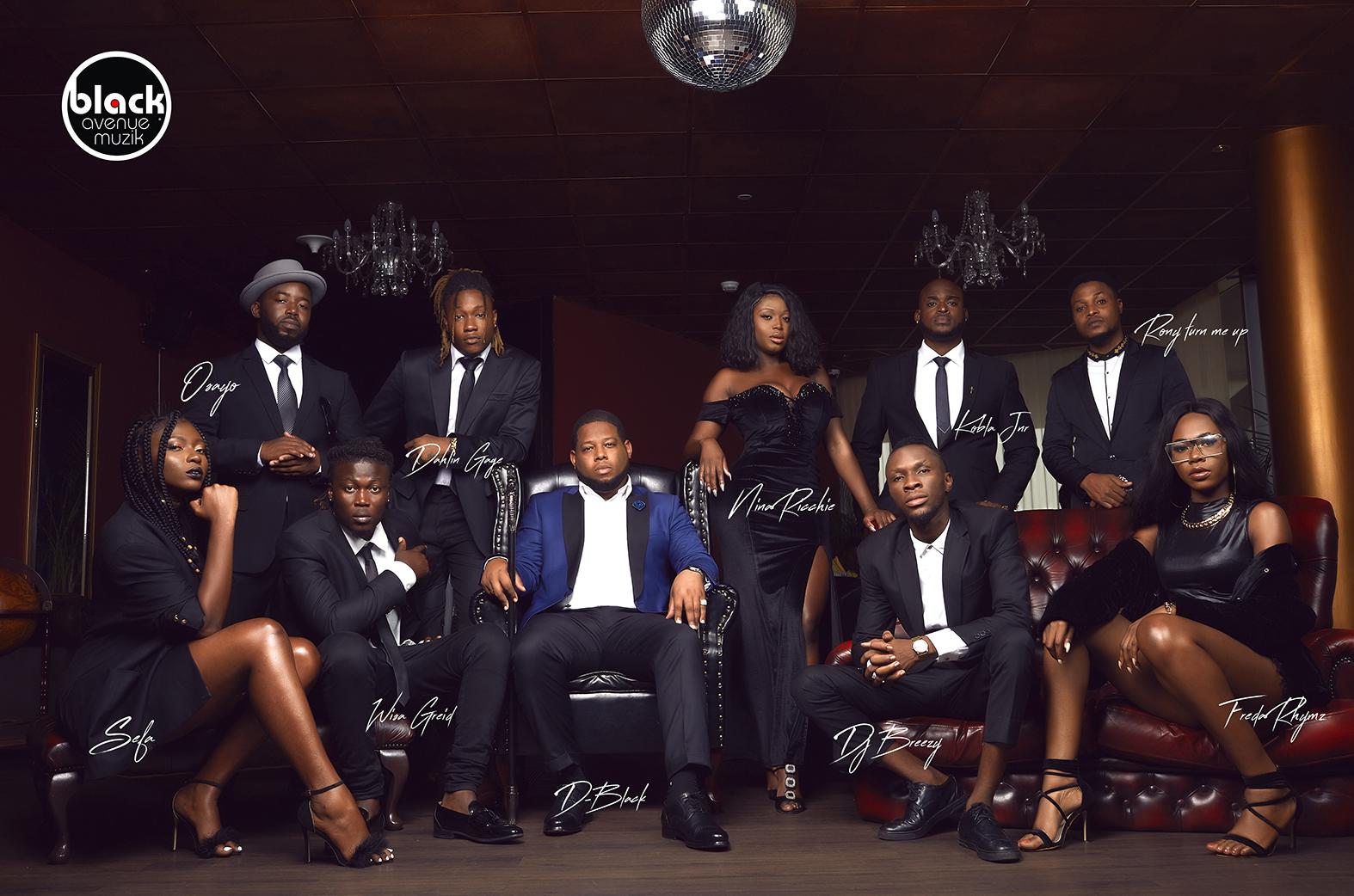 Black Avenue Muzik; the fast rising African record label from Ghana
