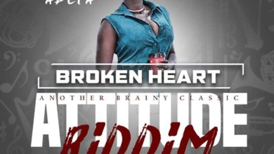Photo of Audio: Broken Heart(Attitude Riddim) by Adepa