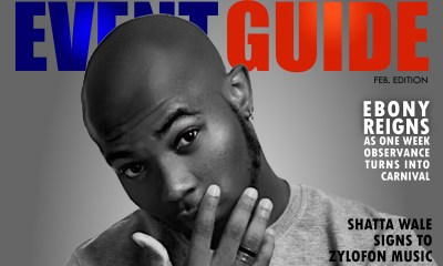 King Promise covers EVENTGUIDE February Edition