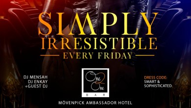 Photo of DJ Mensah partners with Movenpick Hotel for 'Simply Irresistible' party every Fridays