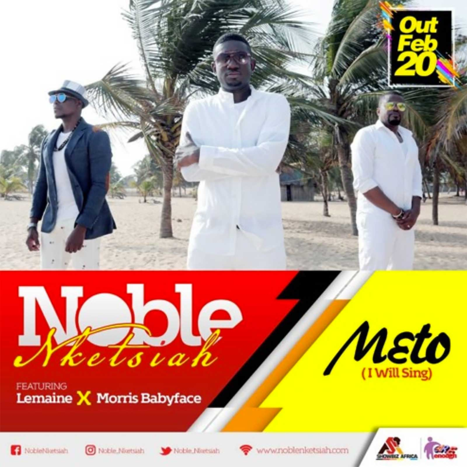 M3to (I Will Sing) by Noble Nketsiah