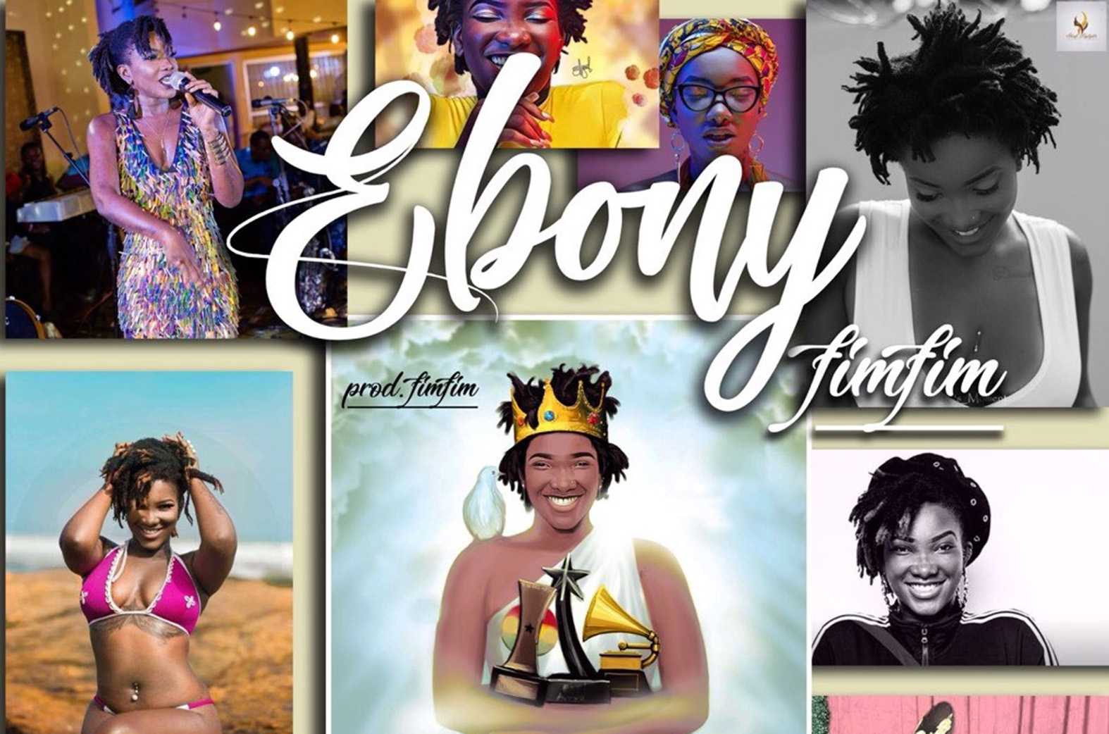 Fimfim shares touching tribute to Ebony