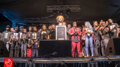 Photo of Video: Ebony Reigns honoured by Rufftown Records, Edem, Coded, Kurl Songx and others