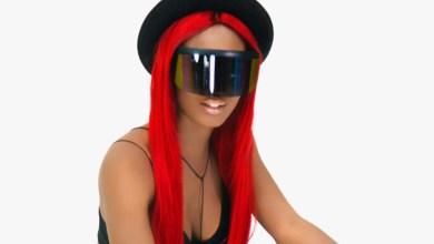 Photo of Petrah dazzles on set during 'Badder' music video shoot