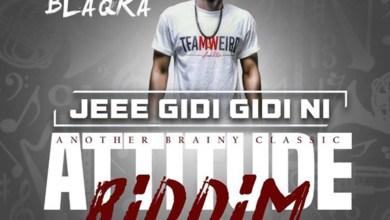 Jeee Gidi Gidi Ni (Attitude Riddim) by Blaqka