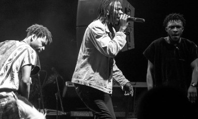 Stonebwoy performs for almost an hour with live band