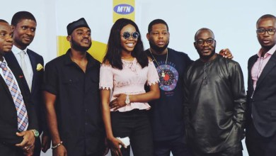 Photo of Photos: Freda Rhymz, D-Black and Kobla Jnr visits MTN