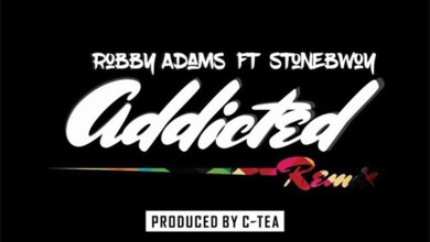 Addicted Remix by Robby Adams feat. Stonebwoy