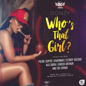 Who's That Girl by Donzy feat. Piesie, B4Bonah, Flyboy, Obra, Kwesi Arthur & Dr. Cryme