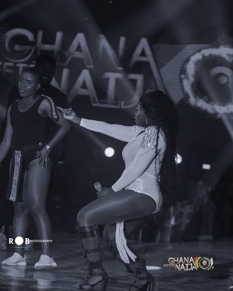 Sista Afia goes wild at 2018 Ghana Meets Naija