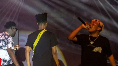 Photo of Video: Kwesi Arthur and Medikal joins Dice Ailes on stage