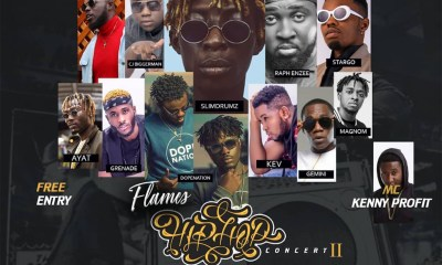 Second edition of Flames Hiphop Concert happening on 20th July