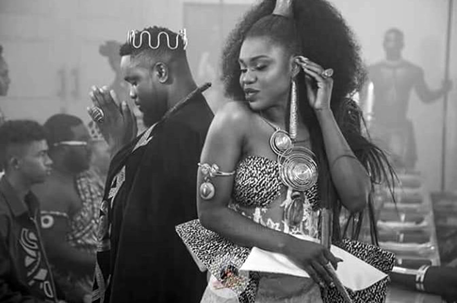 Becca will release her new video feat. Sarkodie tomorrow