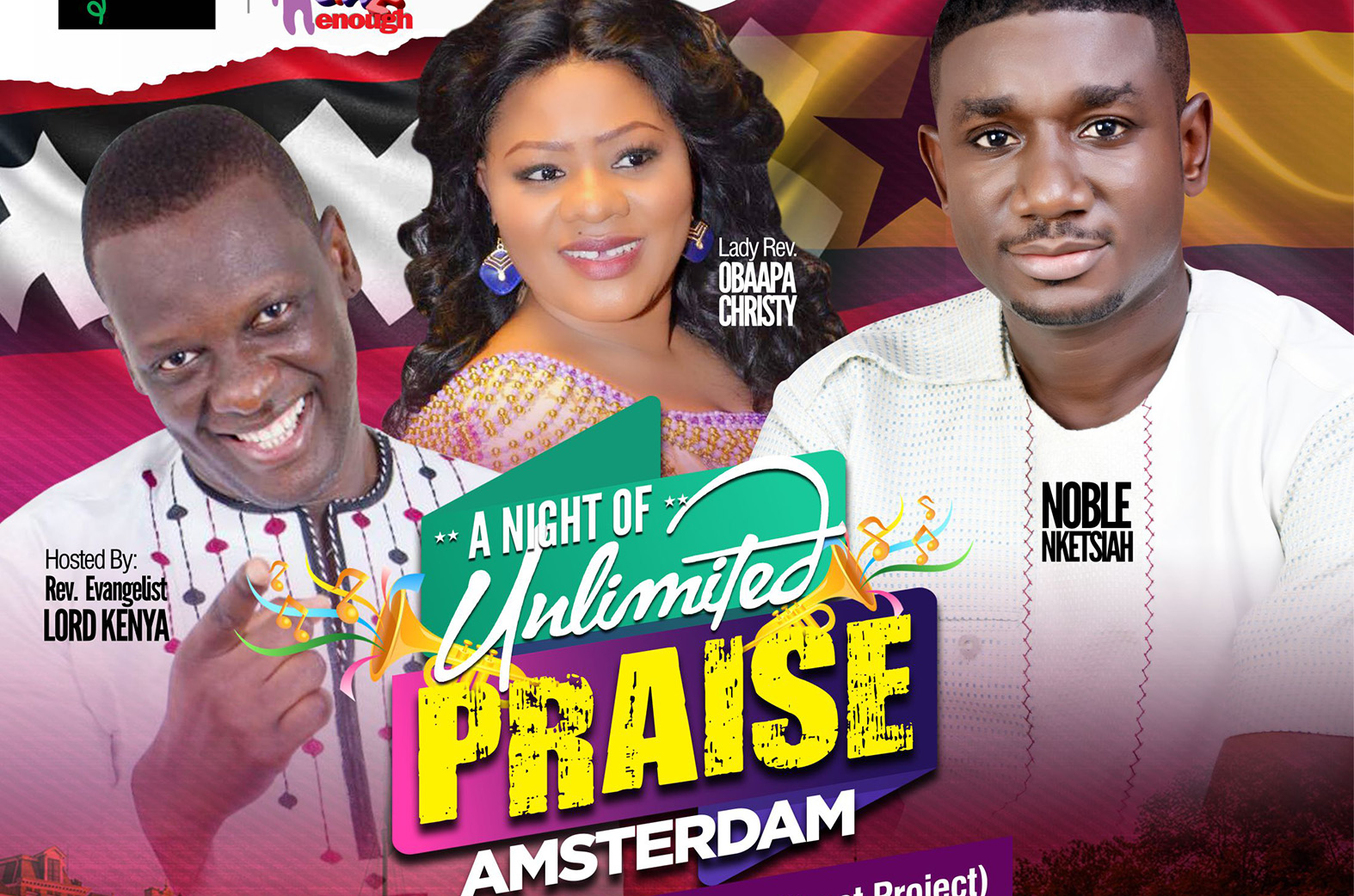 Obaapa Christy, Lord Kenya and Noble Nketsiah storm Europe