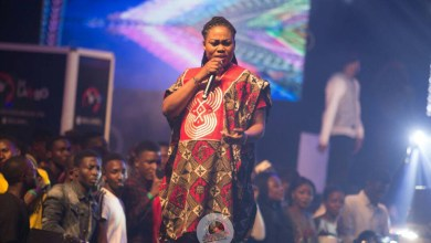 Joyce Blessing's impresses at ZylofonMedia/Menzgold launch in Nigeria