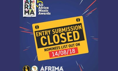 AFRIMA receives 8,009 entries for its 5th edition