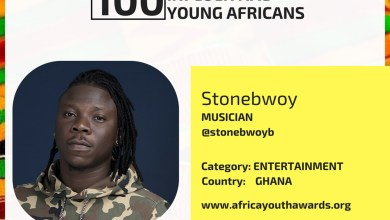 Photo of Stonebwoy makes list of 100 Most Influential Young Africans for 2018