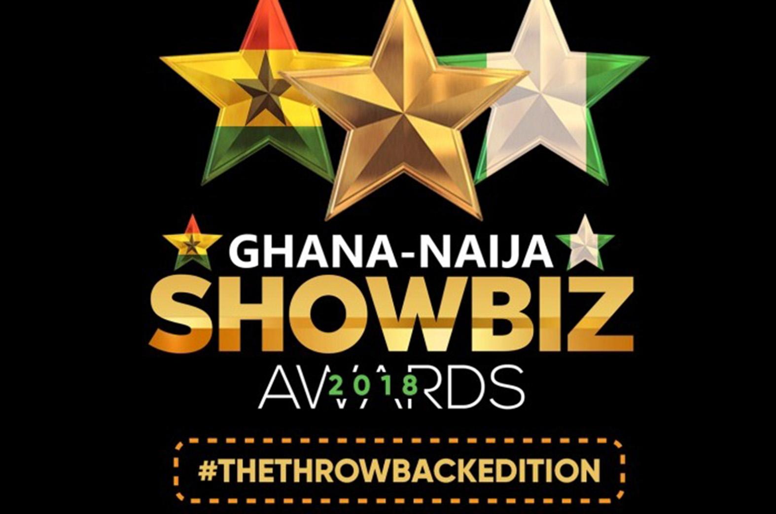 Ghana Naija Showbiz Awards nominees announcement on 25th September