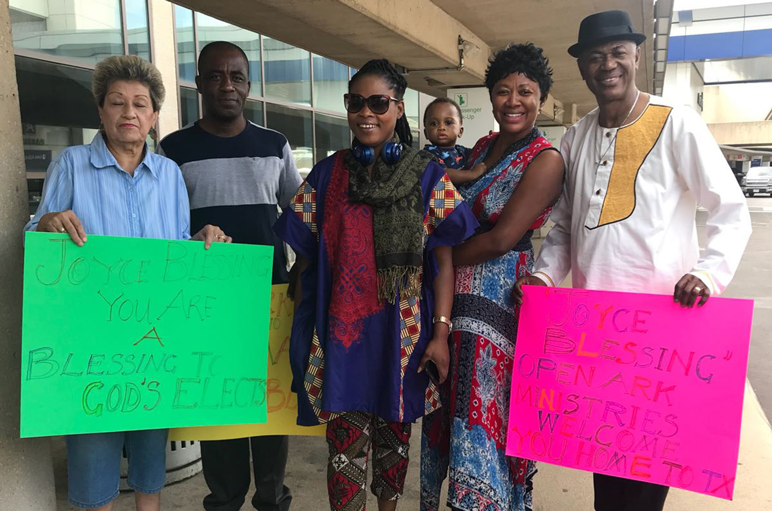 Joyce Blessing arrives in USA ahead of 'I Swerve You' tour