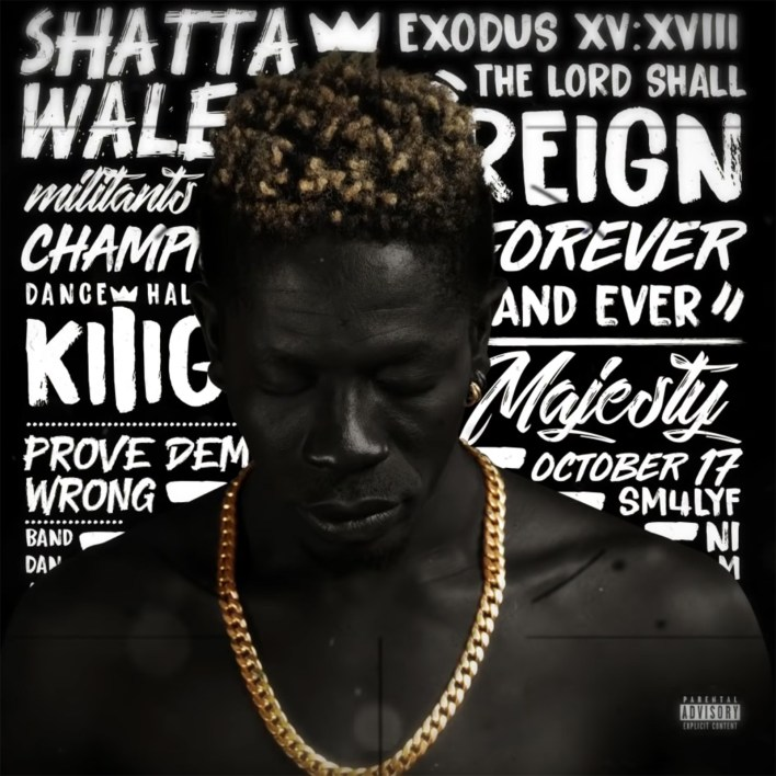 Official! This is the album art for Shatta Wale's Reign Album