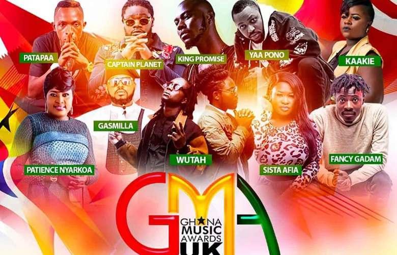 Ghana Music Awards UK 2018