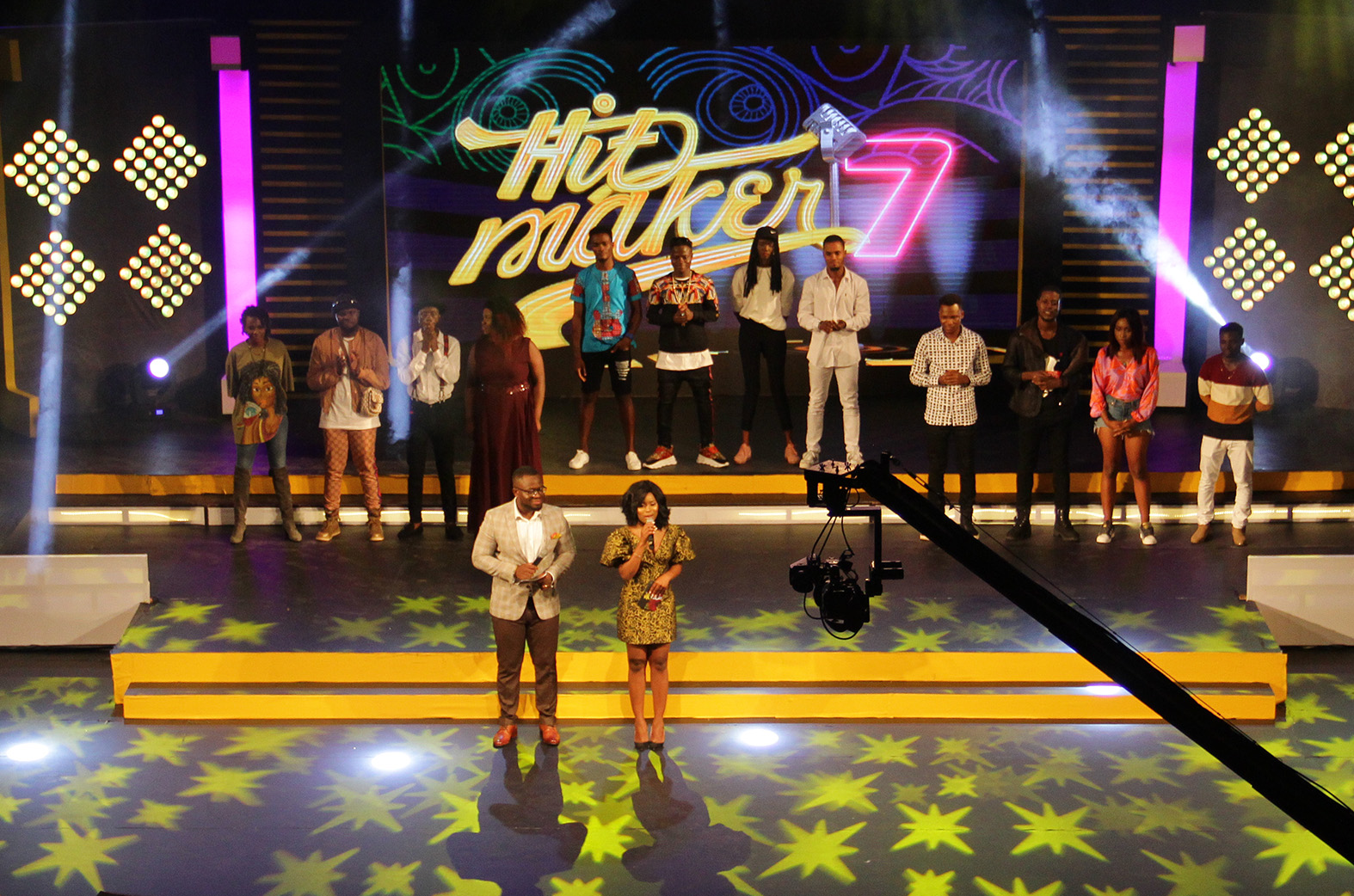 Kay Jay, Amakye Luck shine on MTN Hitmaker 7
