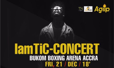 Tic to hold 'IamTiC Concert' at Bukom Boxing Arena