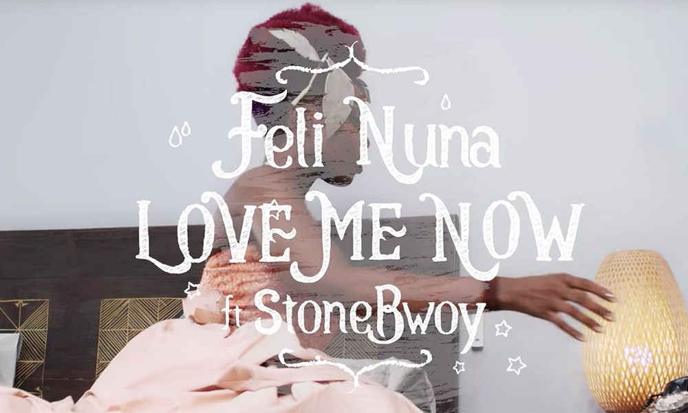 Video: Love Me Now by Feli Nuna feat. Stonebwoy