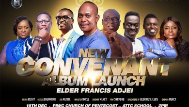 Photo of Elder Francis Agyei to launch latest album with a mega concert this Sunday