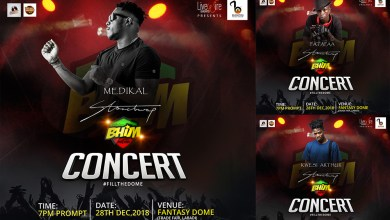 Medikal, Kwesi Arthur & Patapaa to perform at 'BHIM' concert