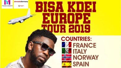 Bisa Kdei kicks off 2019 Europe Tour in March