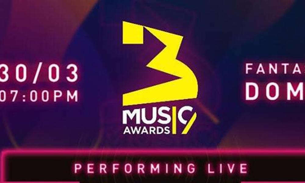 3 Music Awards 2019: Full list of performers