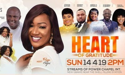 Rose Adjei to crown birthday with Heart of Gratitude concert