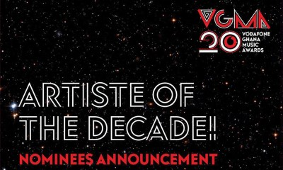Nominees for 2019 VGMA Artiste Of The Decade