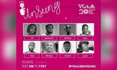 Meet the future of Ghana's Music: 2019 VGMA Unsung Artistes