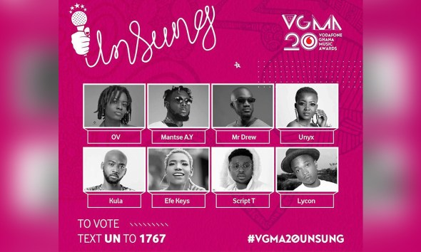 Meet the future of Ghana's Music: 2019 VGMA Unsung Artistes