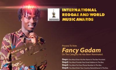 Fancy Gadam earns IRAWMA 2019 nomination