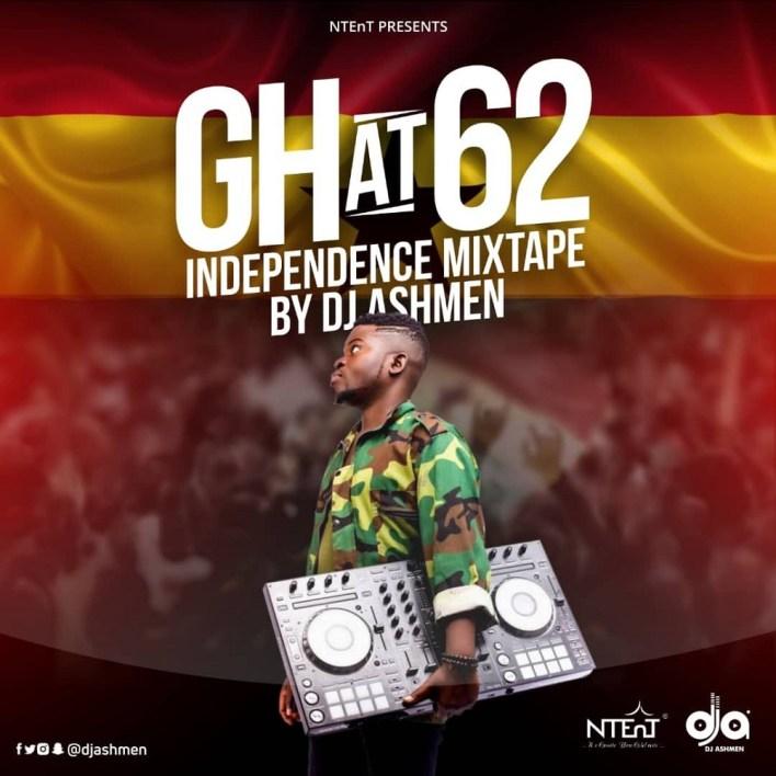 Ghana @62 Mixtape by DJ Ashmen