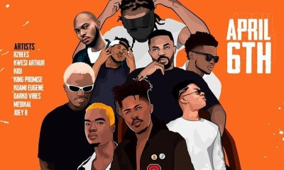 R2Bees, Medikal, Darkovibes, King Promise & more ready for Afrobeat To The World concert