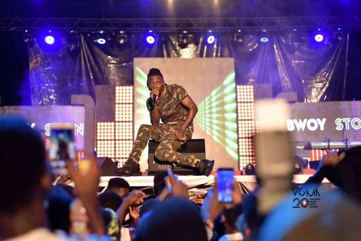 Photos: What went on at 2019 Vodafone Ghana Music Awards Nominees Jam. Photo Credit: @ghmusicawards/Instagram