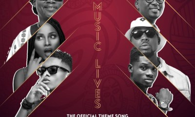 Our Music Lives (Official VGMA Theme Song) by Amandzeba, KiDi, Kuami Eugene, Adina, Joe Mettle & Teephlow