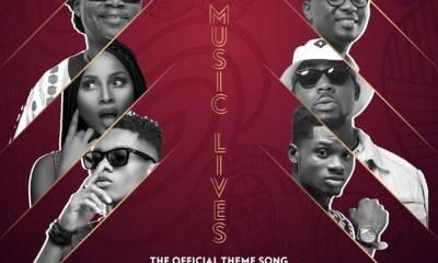 Our Music Lives (Official VGMA Theme Song) by Amandzeba, KiDi, Kuami Eugene, Adina, Joe Mettle & Teephlow
