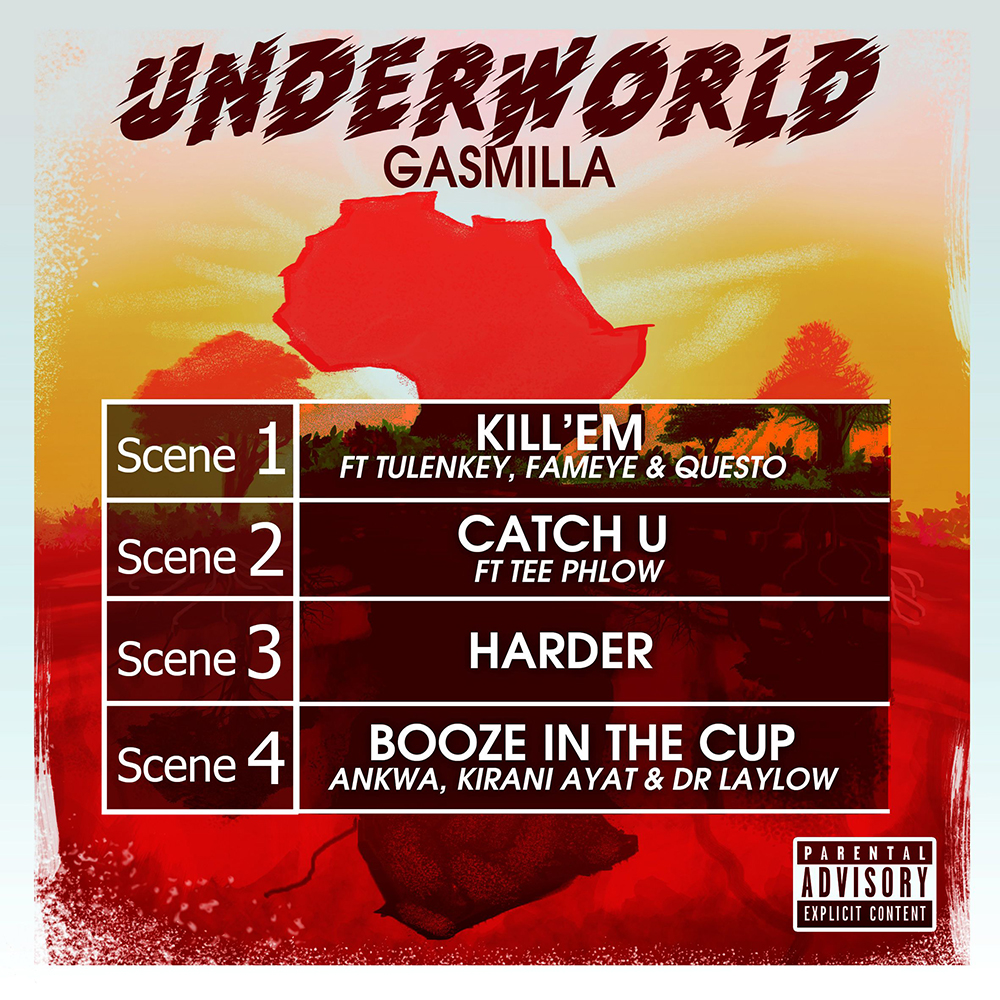 Underworld EP by Gasmilla